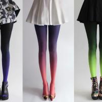 Нова есенна тенденция - омбре чорапогащи