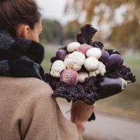 Новите букети - от плодове, зеленчуци и подправки