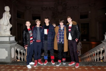 attends Hilfiger Edition Fall2017 Presentation on January 10, 2017 in Florence, Italy.