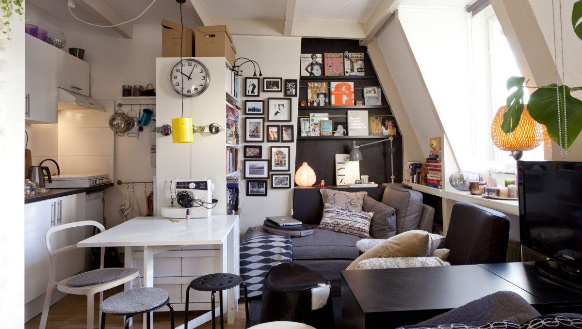 Интериорни трикове при обзавеждане на малък апартамент