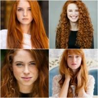 Красотата на червенокосите жени