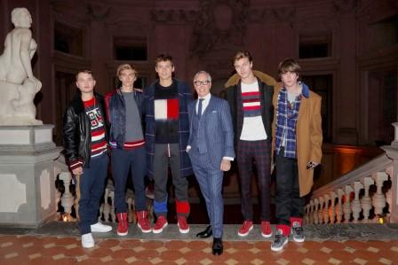 Jan 2017 - Rafferty Law, Presley Gerber, Julien Ocleppo, Tommy Hilfiger, Gabriel kane Lewis and Lucky Blue Smith in Hilfiger Edition_Web