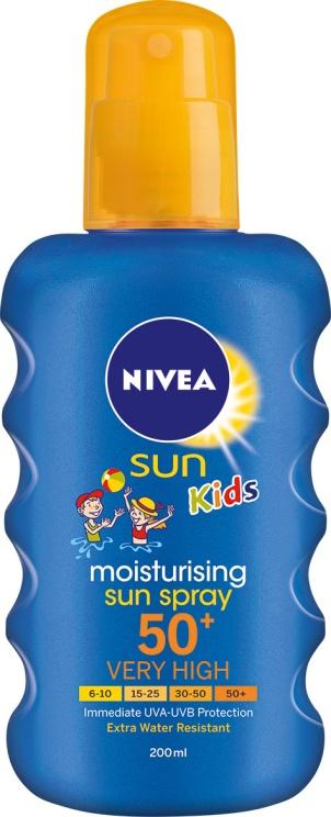 NIVEA SUN_MoistSunSprayKids_SPF50p