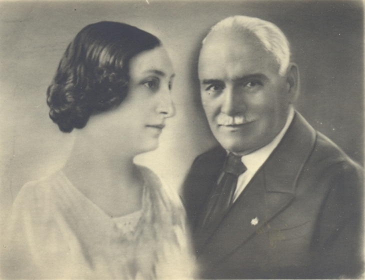 Роза Попова и Стоян Попов