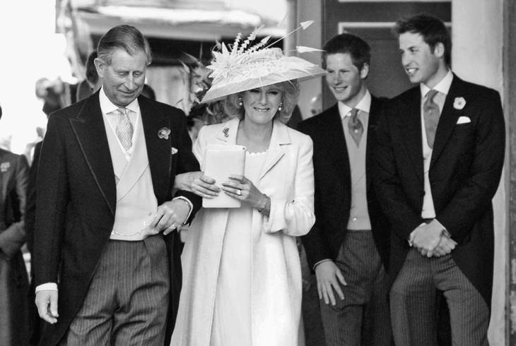 Svatbata na prince Charles i Camilla