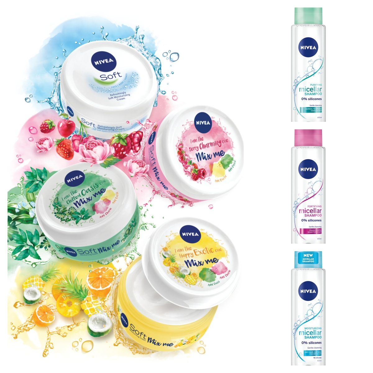Ново от Nivea: мицеларен шампоан и крем с дъх на лято