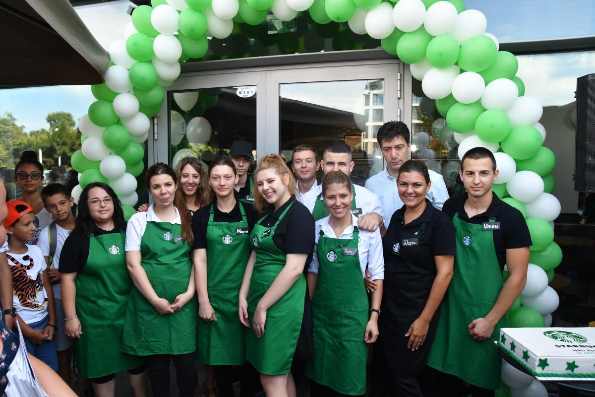 И Пловдив вече има Starbucks