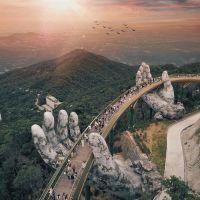 Да Нанг – сюрреалистичният мост над виетнамските планини