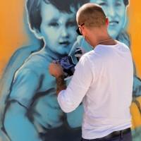 """""""Прозорец към детството"""" – графити изложба в столицата"""